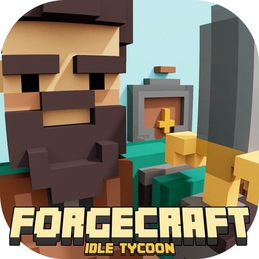 ForgeCraft - Idle Tycoon. Crafting Business Game. APK Cracked Download
