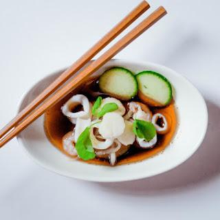 Japanese Seafood Salad (sunomono)