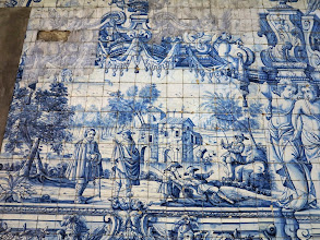 Photo: Porto, mosaic de la Sé