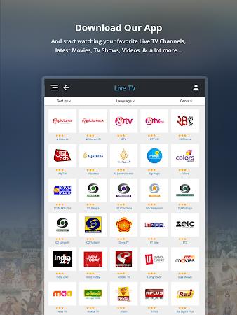 dittoTV - Live TV & VoD a1.134 screenshot 1344026