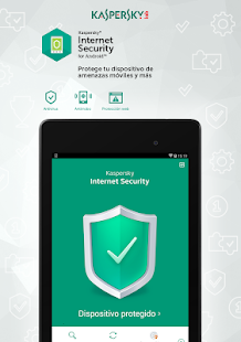 Kaspersky Mobile Antivirus: Web Security & AppLock: miniatura de captura de pantalla