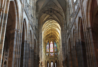 Photo: In St Vitus Cathedral.