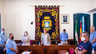 Pleno en el Ayuntamiento de Níjar.