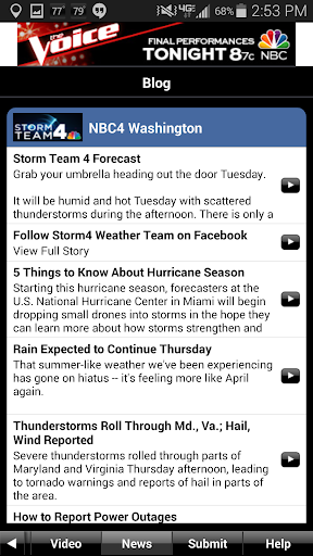 NBC4 Weather screenshot 3