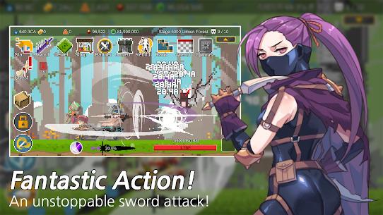 Ego Sword: Idle Sword Clicker MOD (Free Improvements) 1