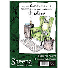 Sheena Douglass A Little Bit Festive Stamp A6 - Christmas Memories UTGÅENDE