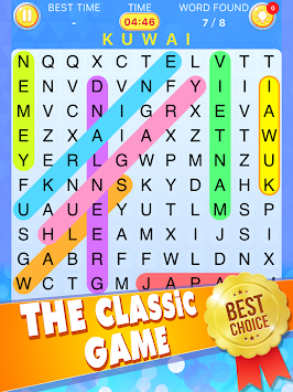 Word Search by Crazy Letter Games APK screenshot thumbnail 4