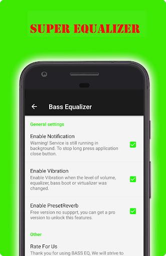 Super Equalizer & Bass Booster screenshot 2