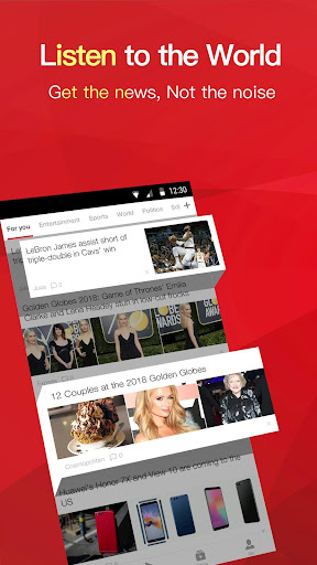 News Republic: Breaking News & Local News For Free screenshot 1
