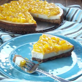 Vegan Cheesecake with Mango Lime Topping Recipe