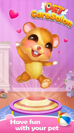 Pet Care Salon - Feed & Clean & Dressup - screenshot