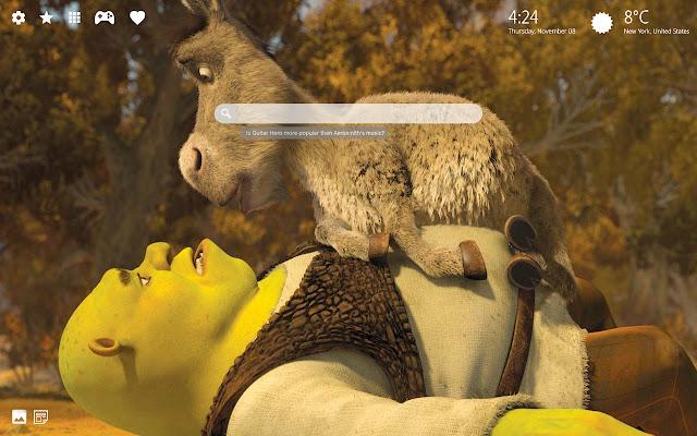 Shrek Donkey Wallpaper HD