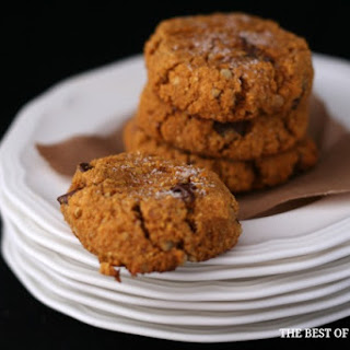 Ooey Gooey Gluten-Free Pumpkin Chocolate Chip Cookies
