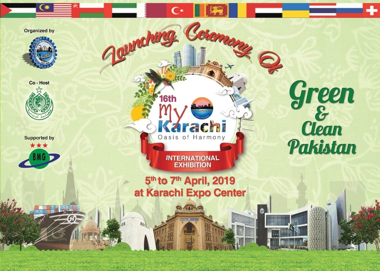 My Karachi – Oasis of Harmony from 5th to 7th April 2019 at Expo