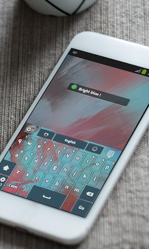免費下載個人化APP|明るい青色 GO Keyboard app開箱文|APP開箱王