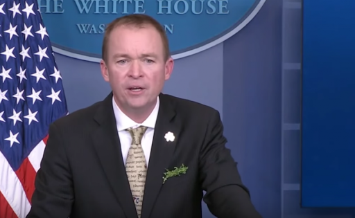 OMB Director Mulvaney destroys reporter on climate change budget question