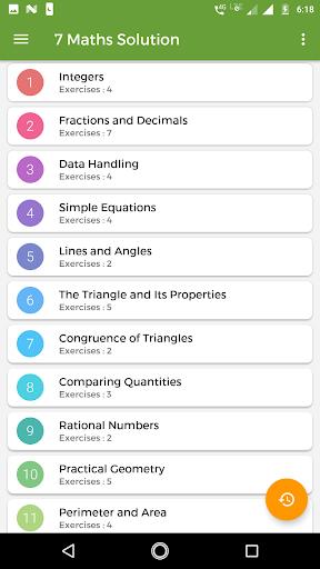 7th Maths NCERT Solution 2.0 screenshots 1