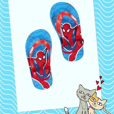 男仔最愛!Spider-Man 拖鞋, $89, uk size 5-7!#蜘蛛俠 #夏天首選 #小朋友用品 #小朋友玩具 #拖鞋