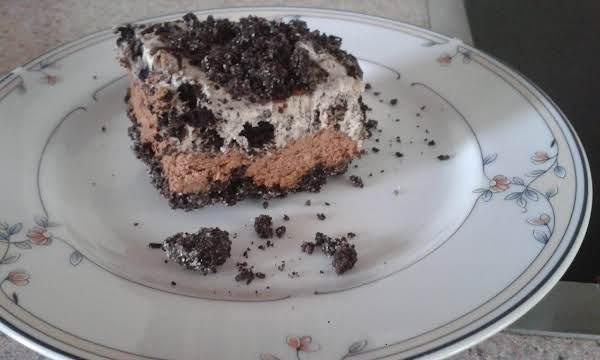 Oreo No-bake Chocolate Cheesecake Bars Recipe