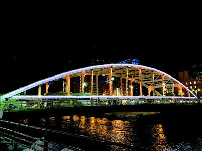 ライトアップ開運橋