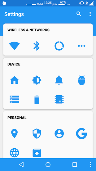 Settings Editor Pro- screenshot thumbnail