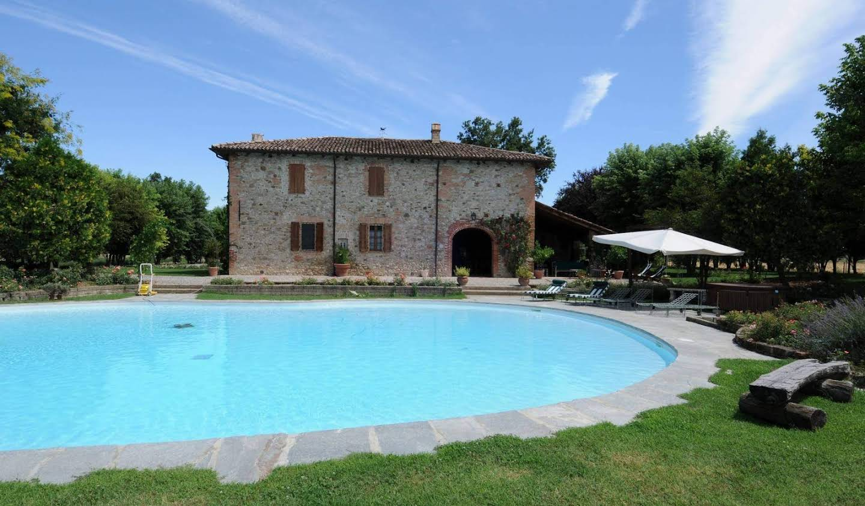 Villa avec jardin et terrasse Agazzano