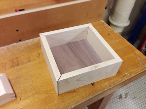 Photo: First dry assembly of one of the drawers. Everything fits!