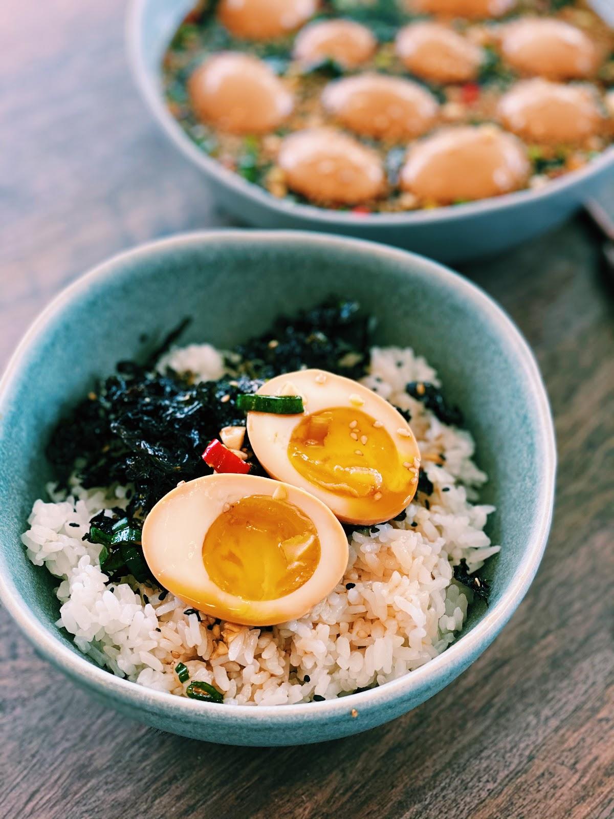 Korean Marinated Eggs