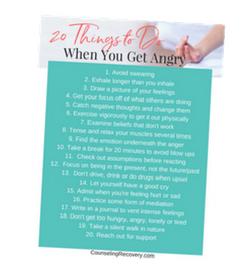 20 anger tips