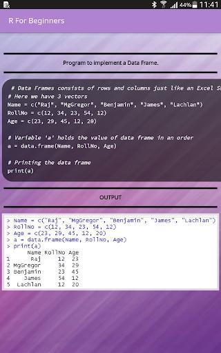 R For Beginners 2.9 screenshots 11