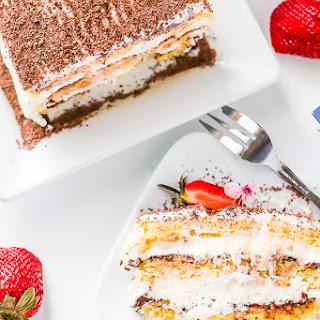 European Chocolate Cream Cheese Cake