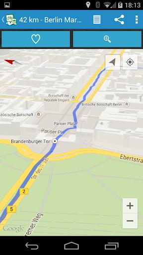 GPSies screenshot 2