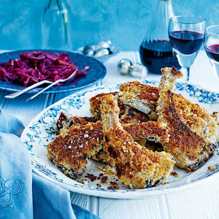 Rick Stein'S Icelandic Breaded Lamb Chops with Spiced Red Cabbage Recipe