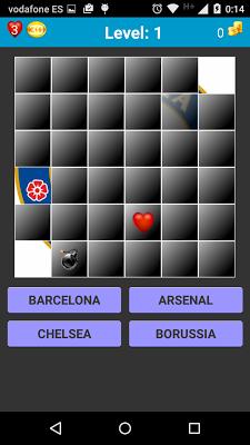 Guess! Football Logos Europe - screenshot