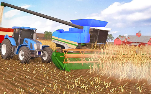 Real Farm Town Farming tractor Simulator Game 1.1.2 screenshots 15