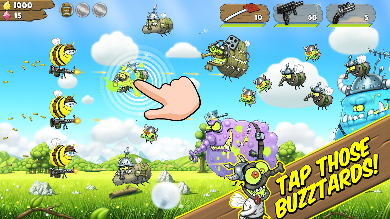 Battle Buzz- screenshot