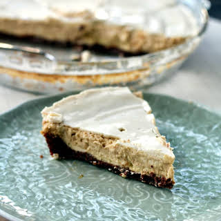 Sinfully Delicious Kahlua Cream Cheese Pie.