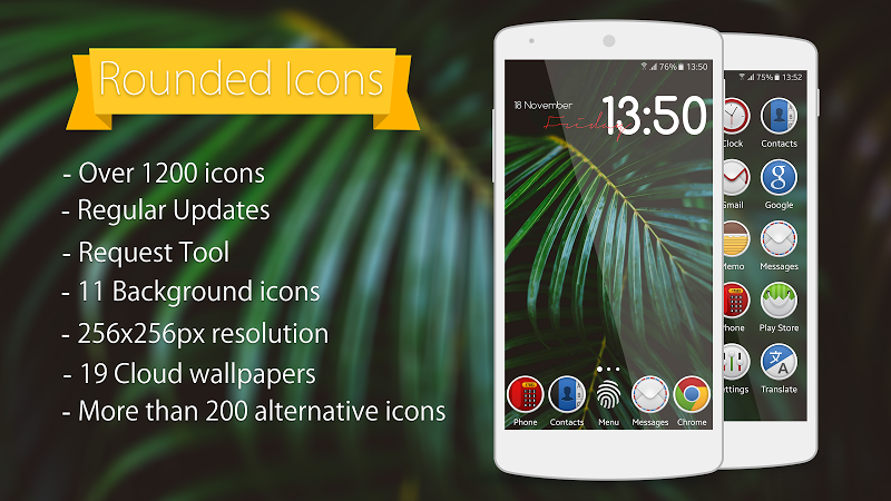Rounded – Icon Pack v1.0.5