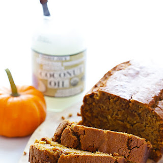 Coconut Oil Pumpkin Bread.