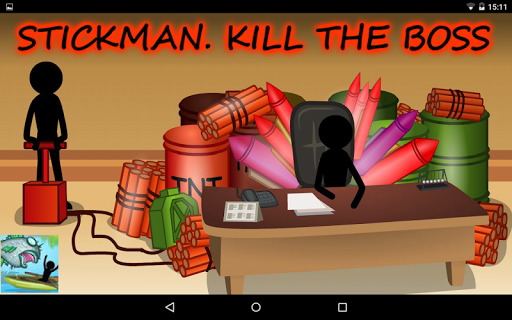 Stickman Kill Boss