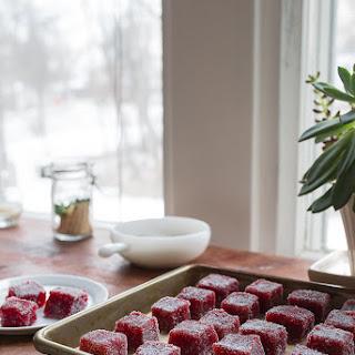 Strawberry Pate de Fruit