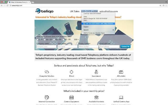 Teliqo Click To Call