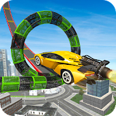 Stunt Car Race Drive: Car Driver Games