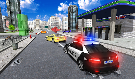Police Car Driver City 4 screenshots 1