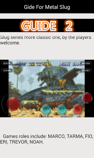 Guide For Metal Slug 1.8 androidappsheaven.com 2