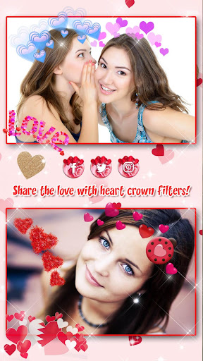 Heart Crown Photo Editor ? Selfie Camera App 1.3 screenshots 8