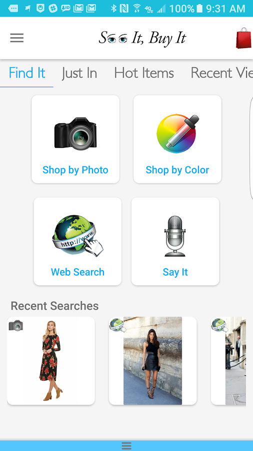 See It Buy It - Shop by Photo- screenshot
