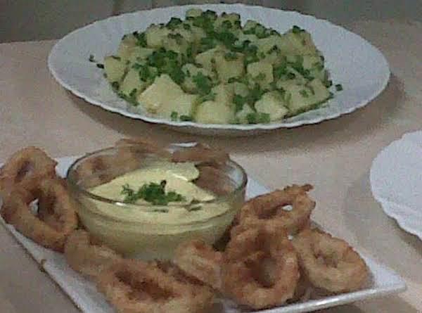 Crispy Squid Rings Recipe