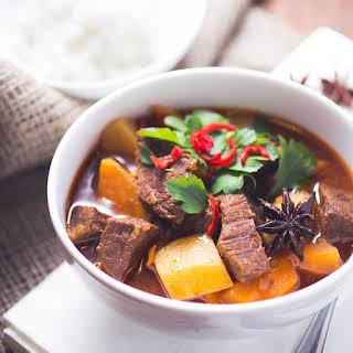 Bò Kho - Vietnamese Beef Stew.