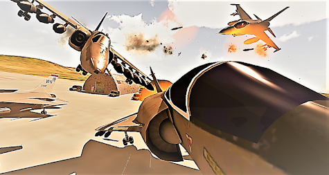 Modern Aircraft Strike APK screenshot thumbnail 5